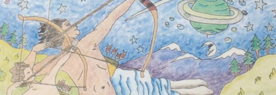 Planetary Gods & Goddesses Coloring Book