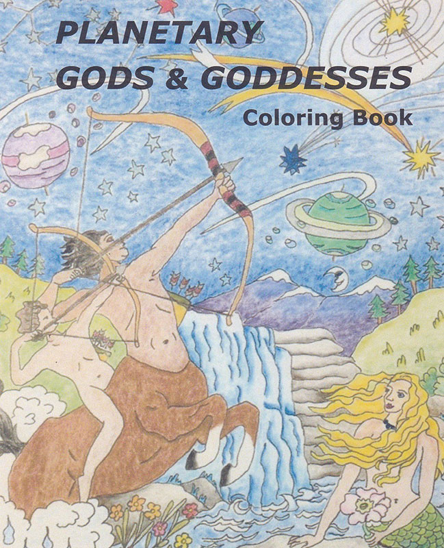 - Planetary Gods & Goddesses Coloring Book - Kelley Hunter Depth Astrology  Kelley Hunter Depth Astrology